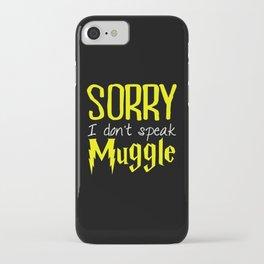 sorry i don't speak muggle. iPhone Case
