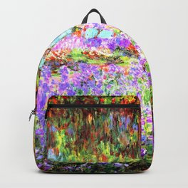 Monets Garden In Giverny Backpack