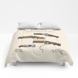 Breech Loading Rifle Patent Comforters