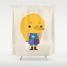 Echidna Knight Shower Curtain