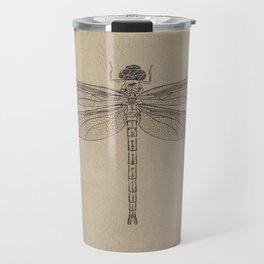 Dragonfly Fossil Dos Travel Mug
