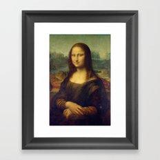Leonardo Da Vinci - Mona Lisa Framed Art Print
