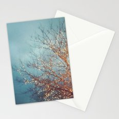 December Lights Stationery Cards