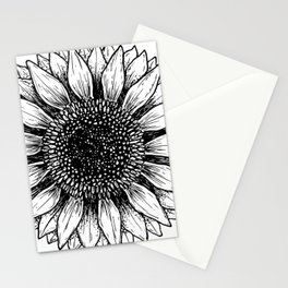 GIRASOL BLANCO Stationery Cards