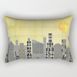 Plaid City Rectangular Pillow