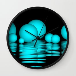 spheres and reflections -103- Wall Clock