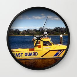 Coast Guard Wall Clock