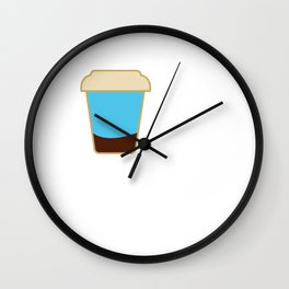 Barista Coffee Maker Addict Brewer Wall Clock