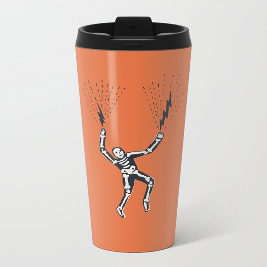 bolt hands Metal Travel Mug