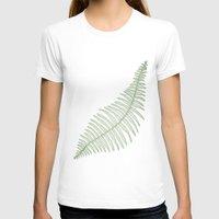 fern T-shirts featuring fern  by Bonnie Durham