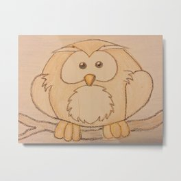 Who who owl Metal Print