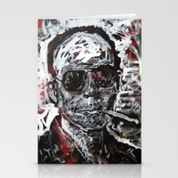 hunter s thompson Stationery Cards featuring Hunter S Thompson by Matt Pecson