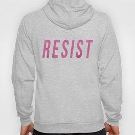 RESIST 3.0 - Pink on Black #resistance Hoody