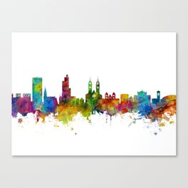 Winterthur Switzerland Skyline Canvas Print