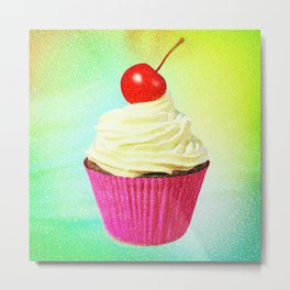 Better With Buttercream Metal Print