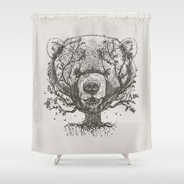 Bear n Tree Shower Curtain