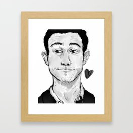 Regular Joe Framed Art Print