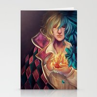 howl Stationery Cards featuring Howl by This Is Niniel Illustrator