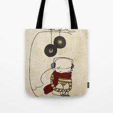 Music Tree Tote Bag
