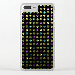 Polkadots Jewels G189 Clear iPhone Case