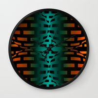 bond Wall Clocks featuring Strong Bond by Andy Readman @ AR2