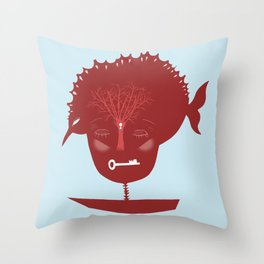 As long as the boat goes, let it go Throw Pillow