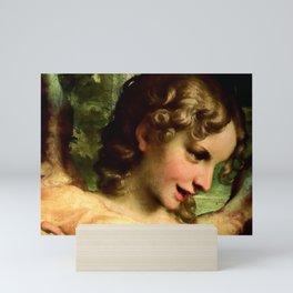 "Antonio Allegri da Correggio ""Madonna of St. Jerome""(detail) Angel Mini Art Print"