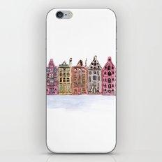 Coloured Houses iPhone & iPod Skin