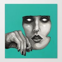 study Canvas Prints featuring Study by Ania