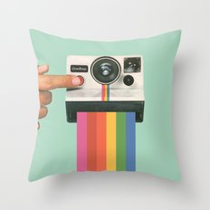 Take a Picture. It Lasts Longer. Throw Pillow