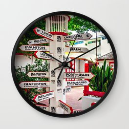 Where to Next? Wall Clock