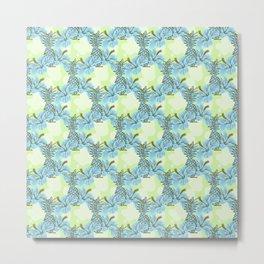 Pinapple x Ibisco Metal Print