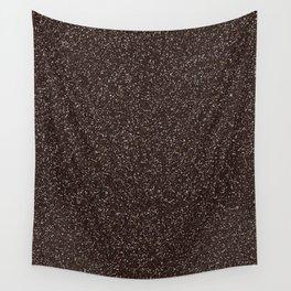 Brown / Black Glitter Wall Tapestry