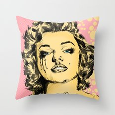 Mirror Monroe Throw Pillow
