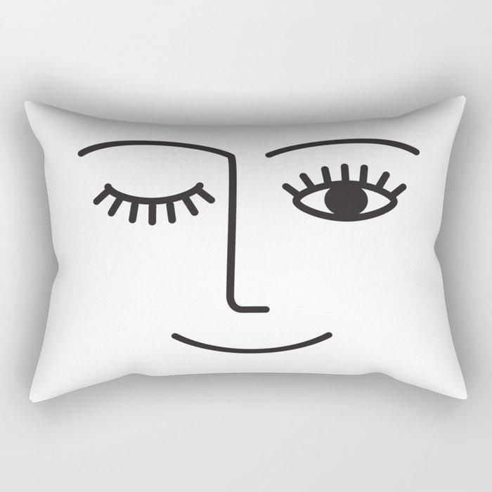 Wink Rectangular Pillow