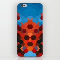 crab iPhone & iPod Skins featuring CRAB by ED design for fun