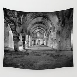 Derelict Cypriot Church. Wall Tapestry