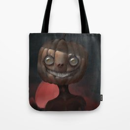 Scary Smile Tote Bag
