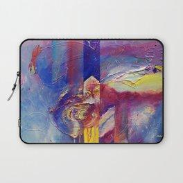 Eye of the Storm by Nadia J Art Laptop Sleeve
