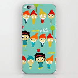 Snow White and the 7 dwarfs iPhone Skin