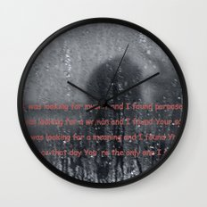 I was looking Wall Clock
