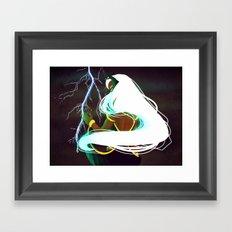 Ororo Munroe Framed Art Print