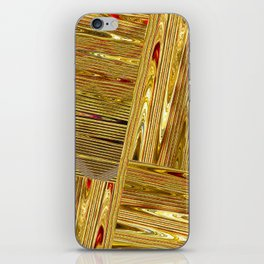 Gold Rush iPhone Skin