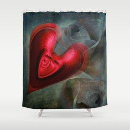 Love me tender Shower Curtain
