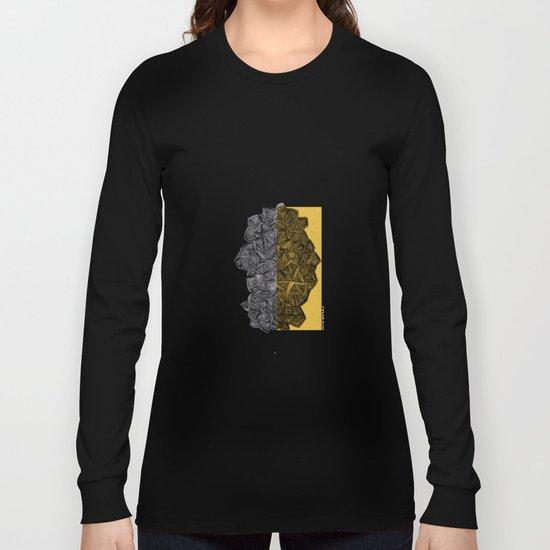 - blue grilled ocean - Long Sleeve T-shirt