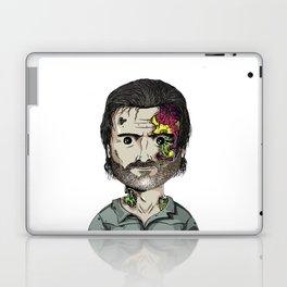 Rick Grimes The Walking Dead zombie portrait Laptop & iPad Skin
