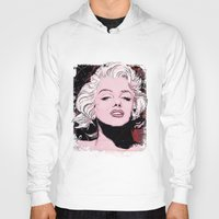 monroe Hoodies featuring Monroe by Todd Bane