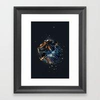Manimals - Ursa Framed Art Print
