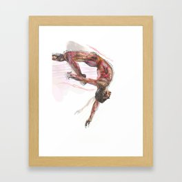 The Olympic Games, London 2012 Framed Art Print