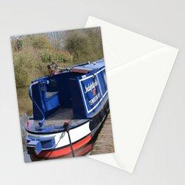 Narrowboat Indefatigable Stationery Cards